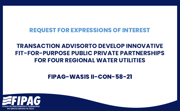 Transaction Advisor to Develop Innovative Fit-For-Purpose Public Private Partnerships for Four Regional Water Utilities