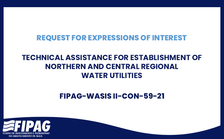 Technical Assistance for Establishment of Northern and Central Regional Water Utilities