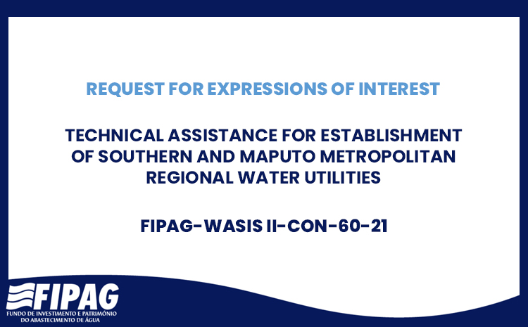 Technical Assistance for Establishment of Southern and Maputo Metropolitan Regional Water Utilities
