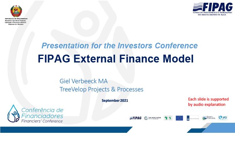 FIPAG External Finance Model
