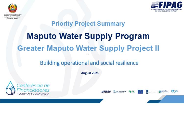 Maputo Water Supply Program
