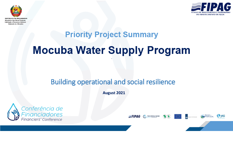 Mocuba Water Supply Program