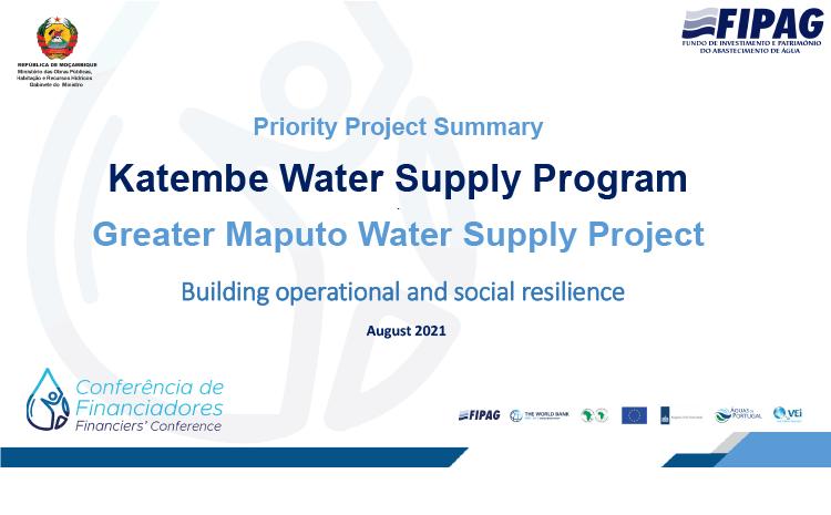 Katembe Water Supply Program