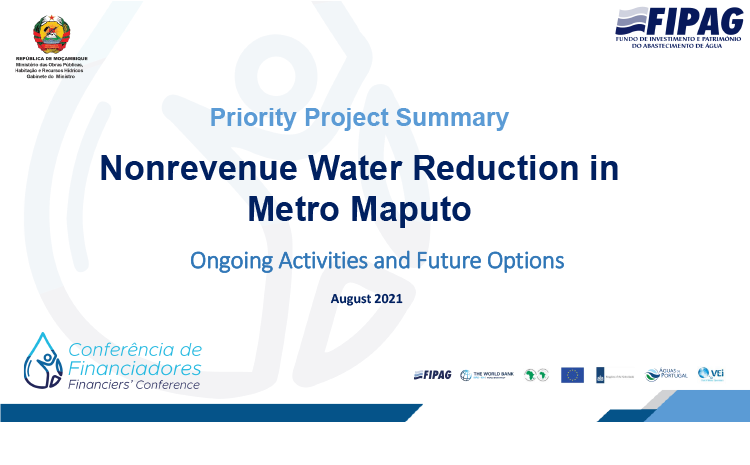 Nonrevenue Water Reduction in Metro Maputo